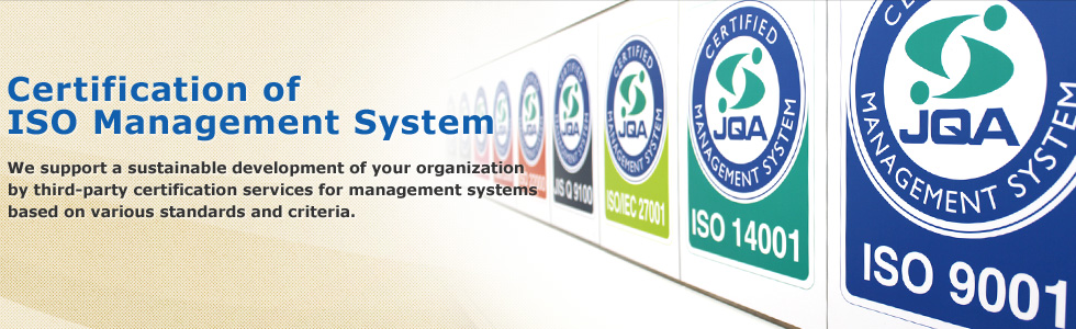 Certification of ISO Management System